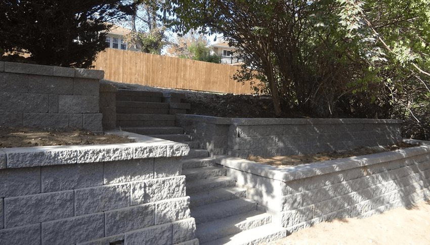 Concrete Block Dry Stack Stone Amp Stacked Concrete