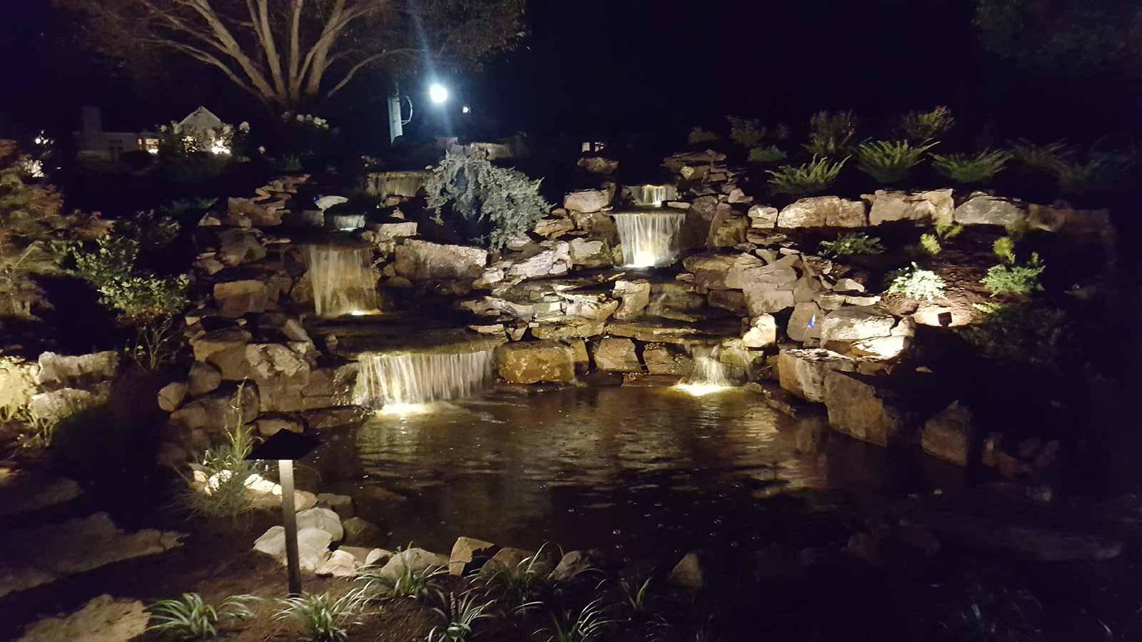 Backyard Water Features